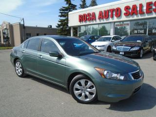 Used 2010 Honda Accord EX VERY LOW MILEAGE 65176KM   GAS SAVER SUNROOF for sale in Oakville, ON