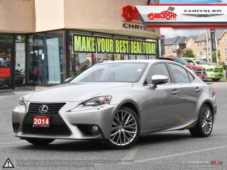 Used 2014 Lexus IS 250 P-ROOF LEATHER, REAR CAM PWR SEATS AND MORE for sale in Scarborough, ON