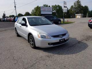 Used 2004 Honda Accord DX for sale in Komoka, ON