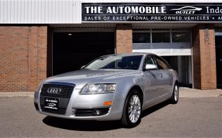 Used 2007 Audi A6 3.2L QUATTRO AWD NO ACCIDENT for sale in Mississauga, ON