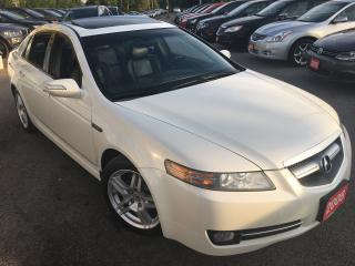 Used 2008 Acura TL Nav Pkg/AUTO/LEATHER/ROOF/BACKUPCAMERA for sale in Scarborough, ON