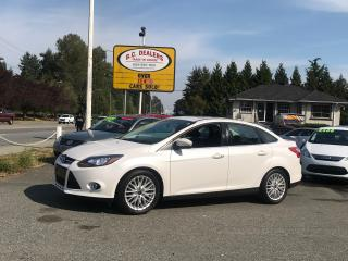 Used 2013 Ford Focus Titanium Sedan, Navigation, SYNC, Low Km's, Clean! for sale in Surrey, BC