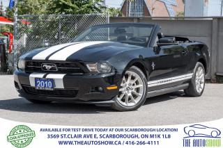 Used 2010 Ford Mustang CONVERTIBLE V6 LEATHER for sale in Caledon, ON
