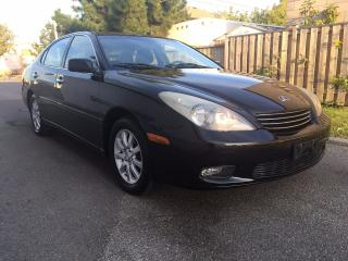 Used 2003 Lexus ES 300 Premium Luxury Pkg,Only 129 km, Leather, Roof for sale in Scarborough, ON