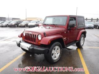 Used 2008 Jeep WRANGLER SAHARA 2D UTILITY 4WD for sale in Calgary, AB