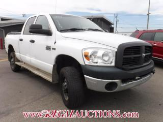 Used 2007 Dodge RAM 2500 HD  QUAD CAB 4WD 5.7L V8 HEMI for sale in Calgary, AB