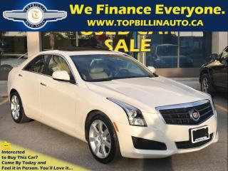 Used 2013 Cadillac ATS LEATHER, SUNROOF, ONLY 44K kms for sale in Concord, ON