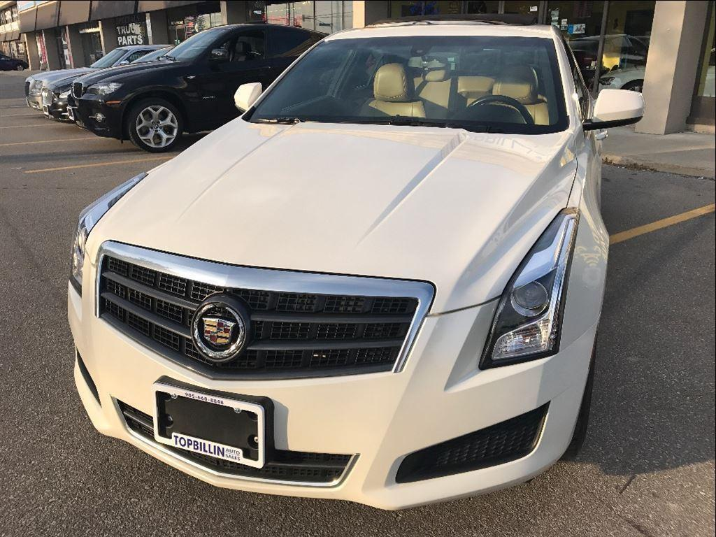 used 2013 cadillac ats leather sunroof only 44k kms for. Black Bedroom Furniture Sets. Home Design Ideas