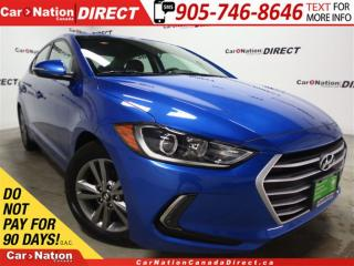 Used 2017 Hyundai Elantra GL| LOW KM'S| BLIND SPOT DETECTION| BACK UP CAM| for sale in Burlington, ON