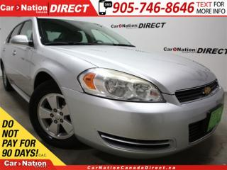 Used 2010 Chevrolet Impala LT| WE WANT YOUR TRADE| OPEN SUNDAYS| for sale in Burlington, ON