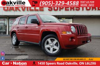 Used 2010 Jeep Patriot NORTH EDITION | BLUETOOTH | SUNROOF | LOW KM for sale in Oakville, ON