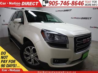 Used 2014 GMC Acadia SLT2| AWD| LEATHER| NAVI| SUNROOF| for sale in Burlington, ON