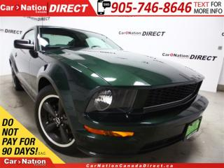 Used 2008 Ford Mustang GT Bullet| LEATHER| LOW KM'S| ONE PRICE INTEGRITY| for sale in Burlington, ON