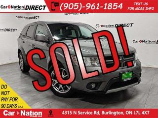 Used 2012 Dodge Journey R/T| AWD| LEATHER| SUNROOF| NAVI| LOCAL TRADE| for sale in Burlington, ON