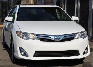 Used 2012 Toyota Camry HYBRID XLE for sale in Etobicoke, ON