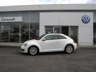 Used 2014 Volkswagen Beetle Coupe 1.8T w/Sun/Sound/Nav for sale in Cornwall, ON