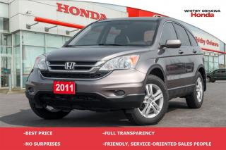 Used 2011 Honda CR-V EX-L for sale in Whitby, ON