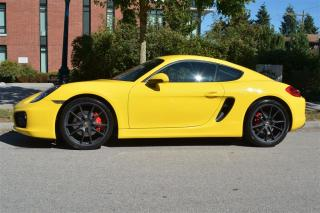 Used 2014 Porsche Cayman S Coupe for sale in Vancouver, BC