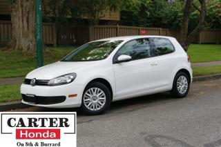 Used 2013 Volkswagen Golf 2.5L Trendline + HEATED SEATS + LOCAL + LOW KMS! for sale in Vancouver, BC