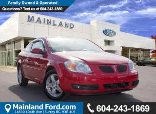 Used 2008 Pontiac G5 Base NO ACCIDENTS, LOW KMS for sale in Surrey, BC