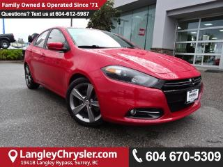 Used 2014 Dodge Dart GT *ACCIDENT FREE * LOCAL BC CAR * for sale in Surrey, BC