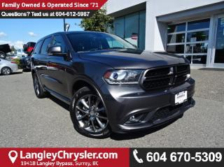Used 2017 Dodge Durango GT *ACCIDENT FREE*ONE OWNER*LOCAL BC SUV* for sale in Surrey, BC