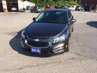 Used 2015 Chevrolet Cruze 1LT for sale in Morrisburg, ON