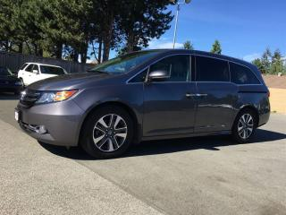 Used 2015 Honda Odyssey Touring w/RES & Navi for sale in Surrey, BC