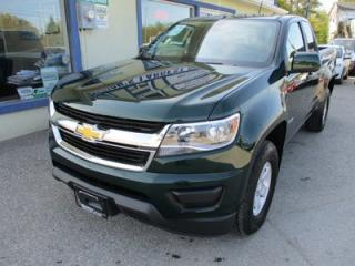 Used 2015 Chevrolet Colorado GREAT KM'S LT MODEL 4 PASSENGER 2.5L - DOHC.. TWO-WHEEL.. EXT-CAB.. SHORTY.. FACTORY WARRANTY.. AUX/USB INPUT.. for sale in Bradford, ON