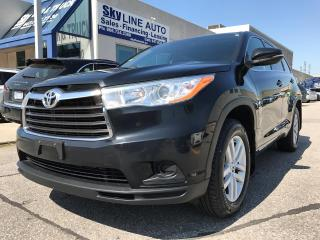 Used 2014 Toyota Highlander HEATED SEATS|ALLOY WHEELS|CERTIFIED for sale in Concord, ON