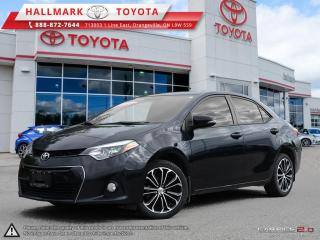 Used 2014 Toyota Corolla 4-door Sedan S CVTi-S for sale in Mono, ON