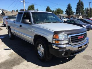 Used 2003 GMC Sierra 1500 Ext Cab 157.5 WB 4WD SLE for sale in Coquitlam, BC