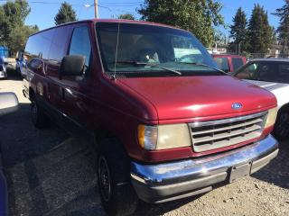 Used 1992 Ford Econoline Cargo Van E250 Super for sale in Coquitlam, BC