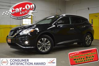 Used 2015 Nissan Murano SL AWD LEATHER NAV PANO ROOF LOADED for sale in Ottawa, ON