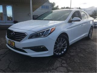 Used 2015 Hyundai Sonata Limited LEATHER NAVIGATION PANORAMIC ROOF for sale in St Catharines, ON