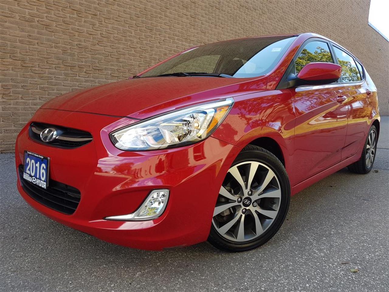 Photo of Red 2016 Hyundai Accent