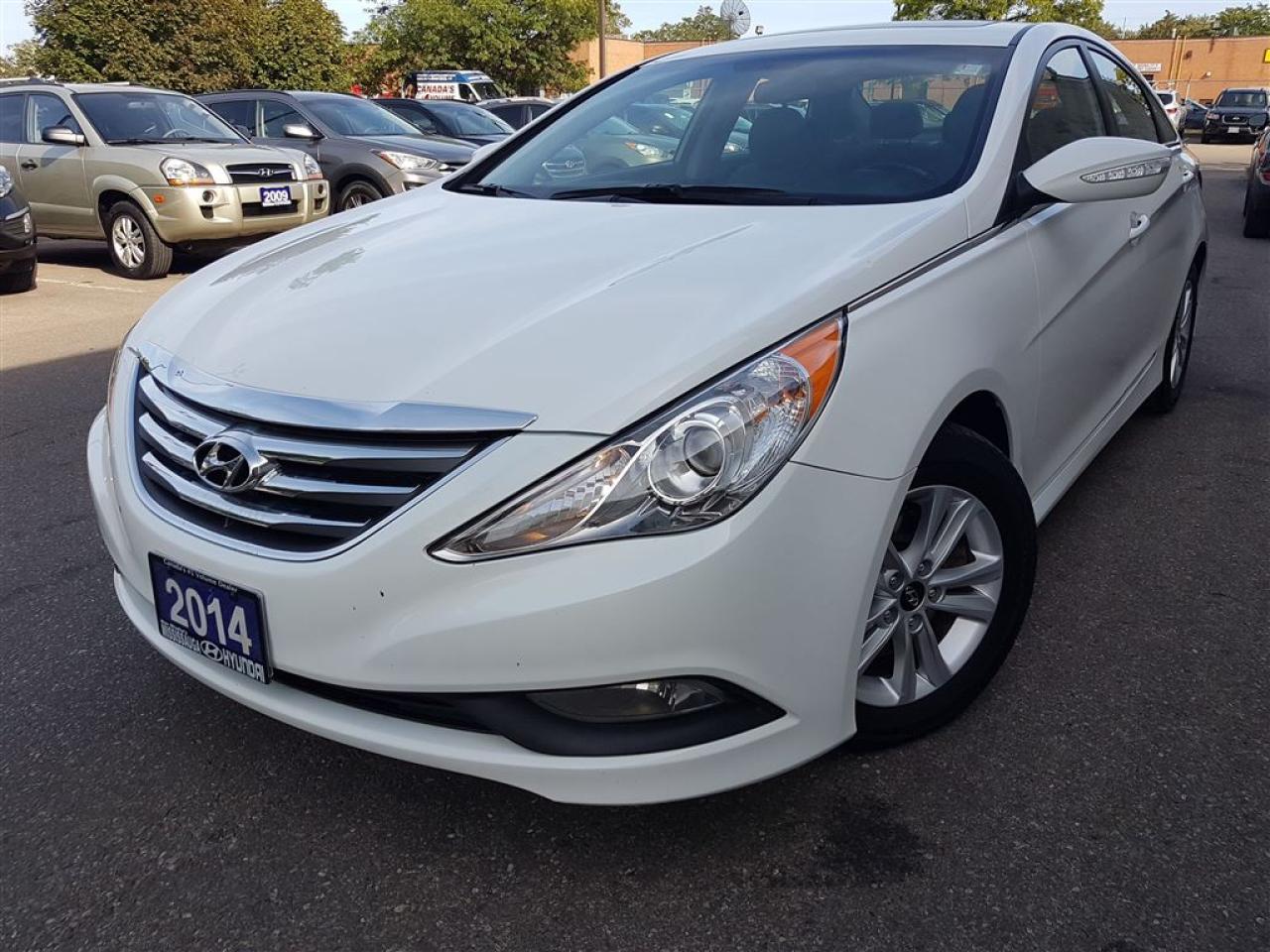 Photo of White 2014 Hyundai Sonata