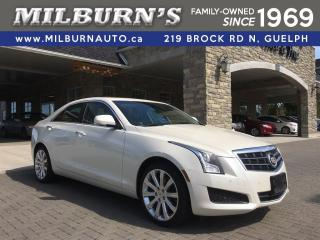 Used 2013 Cadillac ATS Luxury / AWD for sale in Guelph, ON