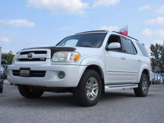 Used 2005 Toyota Sequoia LIMITED/ AWD/ V8/ NAV/ DVD/ 7 PASSENGER for sale in Newmarket, ON