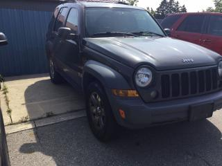 Used 2005 Jeep Liberty Sport for sale in London, ON