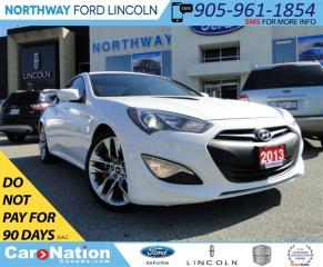 Used 2013 Hyundai Genesis 3.8 GT | NAV | HEATED LEATHER | SUNROOF | for sale in Brantford, ON