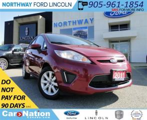 Used 2011 Ford Fiesta SE | BLUETOOTH | HEATED SEATS | for sale in Brantford, ON