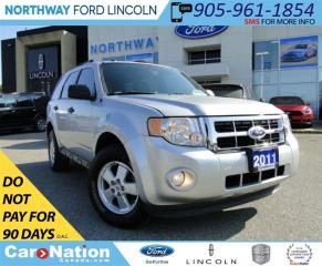 Used 2011 Ford Escape XLT 2.5L | HEATED LEATHER | SUN ROOF | SYNC | for sale in Brantford, ON
