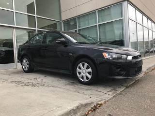 Used 2016 Mitsubishi Lancer ES/HEATED SEATS/ACCIDENT FREE/BLUETOOTH for sale in Edmonton, AB