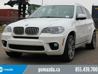 Used 2013 BMW X5 xDrive50i AWD M SPORT PKG LEATHER NAVIGATION PANO ROOF 2 SETS OF RIMS AND TIRES for sale in Edmonton, AB