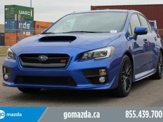 Used 2015 Subaru WRX STI Sport AWD STi BRAND NEW TIRES SUNROOF SPOILER 1 OWNER ACCIDENT FREE LOCAL for sale in Edmonton, AB