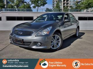 Used 2012 Infiniti G37 X Base for sale in Richmond, BC