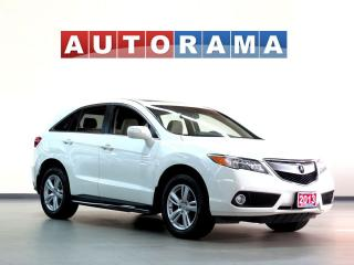 Used 2013 Acura RDX TECH PKG NAVI BACKUP CAM LEATHER SUNROOF 4WD for sale in North York, ON