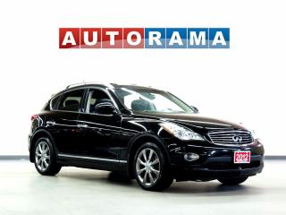Used 2012 Infiniti EX35 LEATHER SUNROOF 4WD for sale in North York, ON