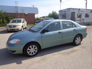 Used 2005 Toyota Corolla CERTIFIED for sale in Kitchener, ON